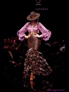 Flamenco fashion in the country