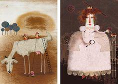 Ilustración infantil. Tesa González.