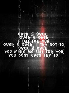 Three Days Grace - Over & Over Band Quotes, Song Lyric Quotes, Music Lyrics, Music Quotes, Words Quotes, Kinds Of Music, Music Is Life, Hard Rock, Three Days Grace