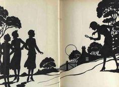 I love the inside of old Nancy Drew books!