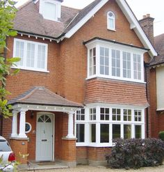 timber casement windows 119 - Mortgage - Calculate home loan payment with detailed report instantly. Timber Windows, Casement Windows, House Windows, Wooden Windows, Bay Windows, Porch Extension, House Extension Design, House Design, Porch Styles