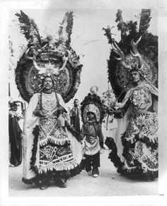 Haitian National Carnival in 1973. VIA Defend Haiti