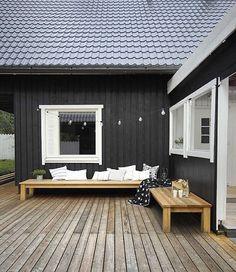 """Loving this outdoor area  #RedDoor #exteriors #outdoor #beachhouse #interiors #interiordesign #decor #design #style #styling #home #living #love…"""