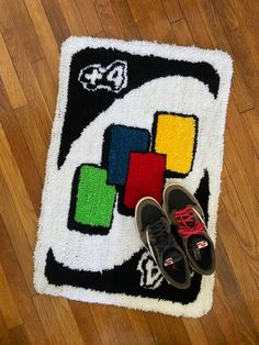 Cute Room Ideas, Cute Room Decor, Funky Rugs, Cool Rugs, Hypebeast Room, Deco Cool, Room Design Bedroom, Diy Bedroom Decor, Indie Room