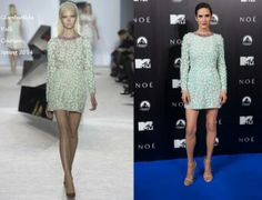 Jennifer Connelly In Giambattista Valli Couture - 'Noah' Madrid Premiere. Re-tweet and favorite it here: https://twitter.com/MyFashBlog/status/446043929775841280/photo/1