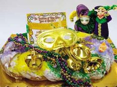King Cake!!  Getting ready for Fat Tuesday!!