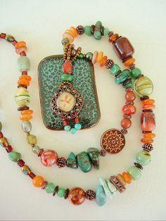 Boho Southwest Necklace by BohoStyleMe,