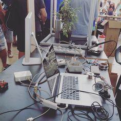 DAR na @makerfairelx com LEVO E GROUU.cc #dar #fablabcr #levo #evol