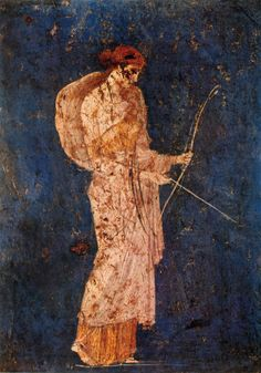 slimgrape:  Diana the Melancholy, unknown artist, Pompei