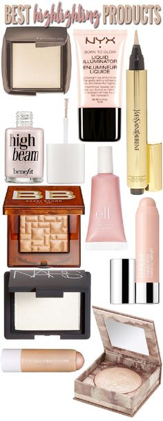 Highlighting products are great makeup tools to use to bring light to your face. By bringing light to your face, you are drawing attention to your face or areas of your face. It is the opposite of ...