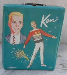 Vintage Ken Vinyl Carrying Case with Drawers by WhiteShepherd, $8.70