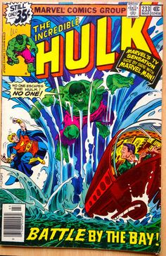 INCREDIBLE HULK #233 MARCH 1979 MARVEL COMICS BRONZE AGE FINE CONDITION