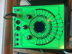 MATRIXSYNTH: Future Retro Orb Limited Edition Flourescent Green...