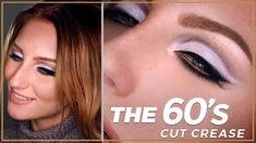Image result for 60's makeup look