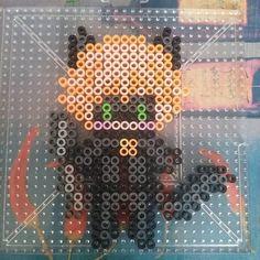 Miraculous Chat Noir perler beads by koiykeuchiha on DeviantArt
