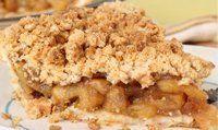 Easy Dessert Recipe for Dutch Apple Pie (Favorite Pins Easy Desserts) Best Gluten Free Recipes, Gluten Free Desserts, Easy Desserts, Dessert Recipes, Apple Pie Crumble Topping, Apple Crumb Pie, Apple Strudel, Apple Pie Recipes, Baking Recipes
