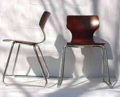 orig. Flötotto-Stapelstuhl °Designklassiker ° Bauhaus° eames° knoll° 60er Jahre