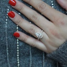 Elegant Engagement Rings, 3 Stone Engagement Rings, Pear Shaped Engagement Rings, Engagement Sets, Designer Engagement Rings, Rose Gold Engagement Ring, Engagement Ring Settings, Wedding Rings, Pear Shaped Diamond