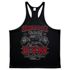 Golds Gym Classic Stringer Tank Top Royal Blau//Blue S-XXL Bodybuilding Fitness