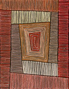 Aboriginal Artwork by Adam Reid. Sold through Coolabah Art on eBay. Cataogue ID 12054