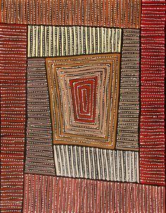 Aboriginal Artwork by Adam Reid. Sold through Coolabah Art on eBay. Cataogue ID 12054