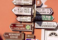 signposts and signs