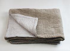 en fil d'indienne | wave bed (silk & cotton)