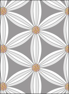 Vintage Daisy Chain stencils, stensils and stencles