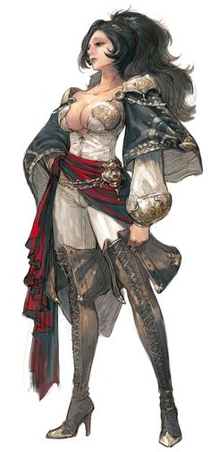 Potential female pirate/rouge character