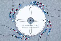Beaded kumihimo tutorials