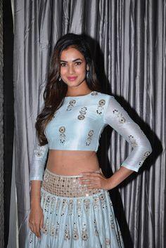 Indian Girls Villa: Sonal Chauhan Displays Her Toned Midriff At Telugu...