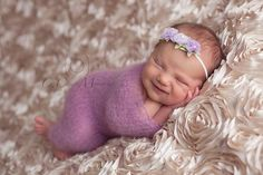Knit baby blanket Newborn baby mohair wrap by TheMoonlightShadow, $26.50