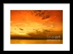 Sunset  Framed Print By Charuhas Images