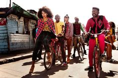 """MORE PICS From Solange's """"Losing You"""" Video Shoot In Cape Town 