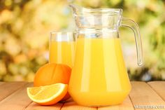 DIY Healthy Orange Sports Drink, get all of your electrolytes.