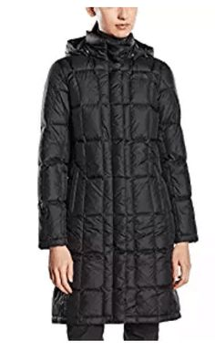 The North Face Women's Metropolis Parka (Small, TNF Black/TNF Black). Warm, down jacket is now crafted with a slimmer upper body for a flattering fit. Quilting throughout body. Brushed chin guard for a softer feel. Down Parka, Parka Coat, Parka Jackets, North Face Women, The North Face, Coats For Women, Jackets For Women, Ladies Coats, Best Parka