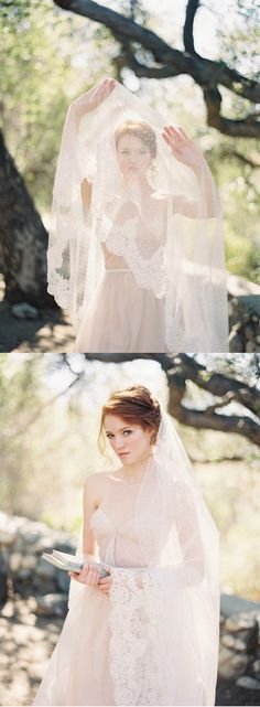 "Polka dot veil | ""Allure"" 