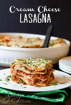 Sausage Lasagna with Cream Cheese-- Made Jan 2014