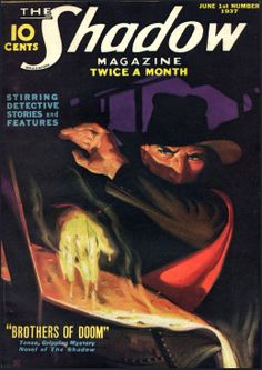 The Golden Age: The Shadow #shadow | George and Jerome Rozen