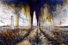 I can now say I have seen without doubt in my mind the best painting ever created. This is not my work it is Anselm Kiefer's currently exhibiting at white cube gallery. Anselm Kiefer, Best Painting Ever, Statues, Picasso Paintings, Contemporary Paintings, Oeuvre D'art, Traditional Art, Les Oeuvres, Abstract Art