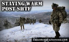 Staying Warm Post SHTF and Understanding Heat Loss | Urban Survival Network