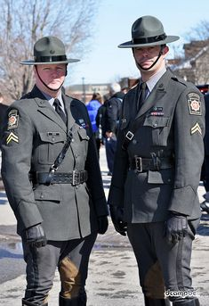Troopers attend funeral for Constable Steve Dery of the Kativik Regional Police Service of northern Quebec.Ottawa, Ontario, CanadaMarch 9, 2013 Cop Uniform, Police Uniforms, Men In Uniform, Army Police, State Police, Police Officer, Soldier Haircut, British Army Uniform, Hot Cops