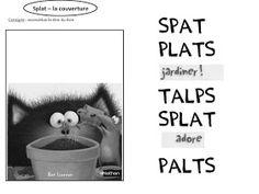 Le Livre de Sapienta: Splat adore jardiner ! Exploitation MS GS Splat Le Chat, Ms Gs, Album, Google Drive, Math, Recherche Google, Voici, Stage, School