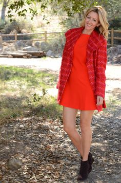 #cabi – Jenn of @stylishhwife is a vision in red wearing our Sloan Jacket.