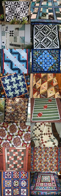 Quilts for Men (and Big Boys) Volume 2 by Janie Kemp on Etsy--Pinned with TreasuryPin.com