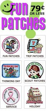 girl scout supplies.badges.crafts.ideas