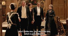 I love how the Dowager Countess teaches us to pay attention to the exact meaning of words and their intent. Too few people do that these days, especially on the internet.