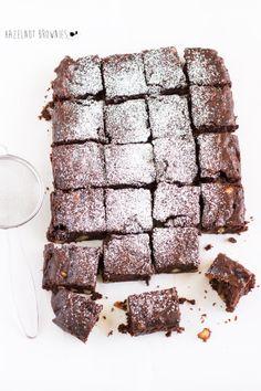 giroVegando in cucina: Brownies al doppio cioccolato e nocciole