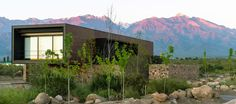 Evans House in Argentina features enviable views of the Andes mountain range
