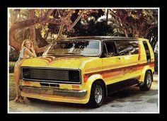 """Sweet Chariot"" Custom Van, 1979   Flickr - Photo Sharing!"